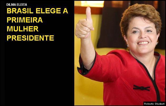 Resultado de imagem para dilma é eleita presidente do brasil 2010